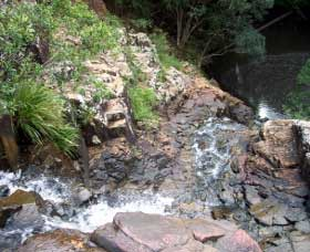 Gypsy Falls Waterfall   Retreat - Phillip Island Accommodation