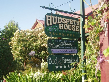 Hudspeth House Bed and Breakfast