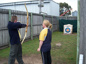 Bairnsdale Archery Mini Golf  Games Park - Phillip Island Accommodation