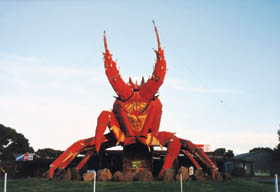 The Big Lobster - Phillip Island Accommodation