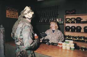 Indoor Skirmish - Paintball Sports - Phillip Island Accommodation