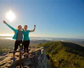 Mount Larcom Climb - Phillip Island Accommodation