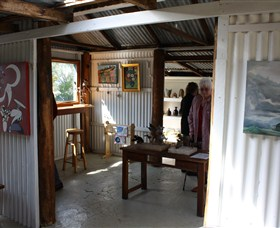 Tin Shed Gallery - Phillip Island Accommodation