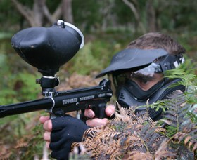 Tactical Paintball Games - Phillip Island Accommodation