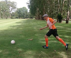 FootGolf at Teven Valley Golf Course - Phillip Island Accommodation