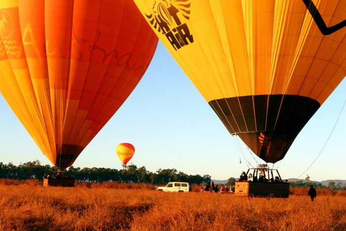 Hot Air Balloon Scenic Rim - Phillip Island Accommodation
