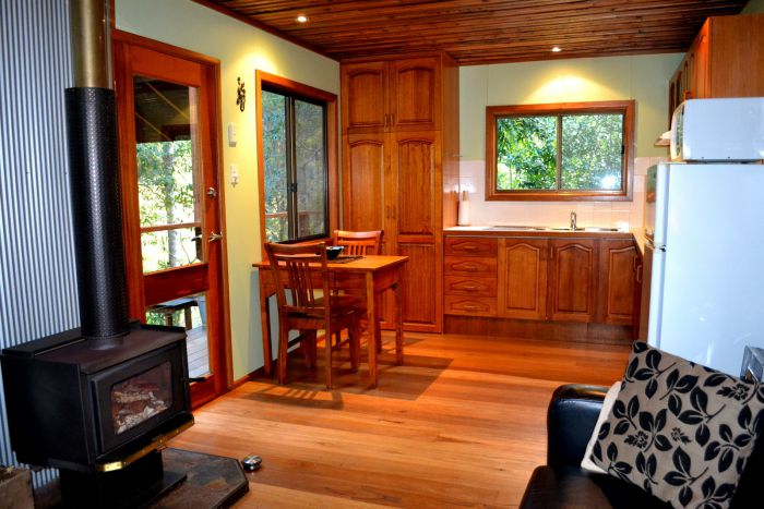Waterfall Hideout-Rainforest Cabin for Couples - Phillip Island Accommodation
