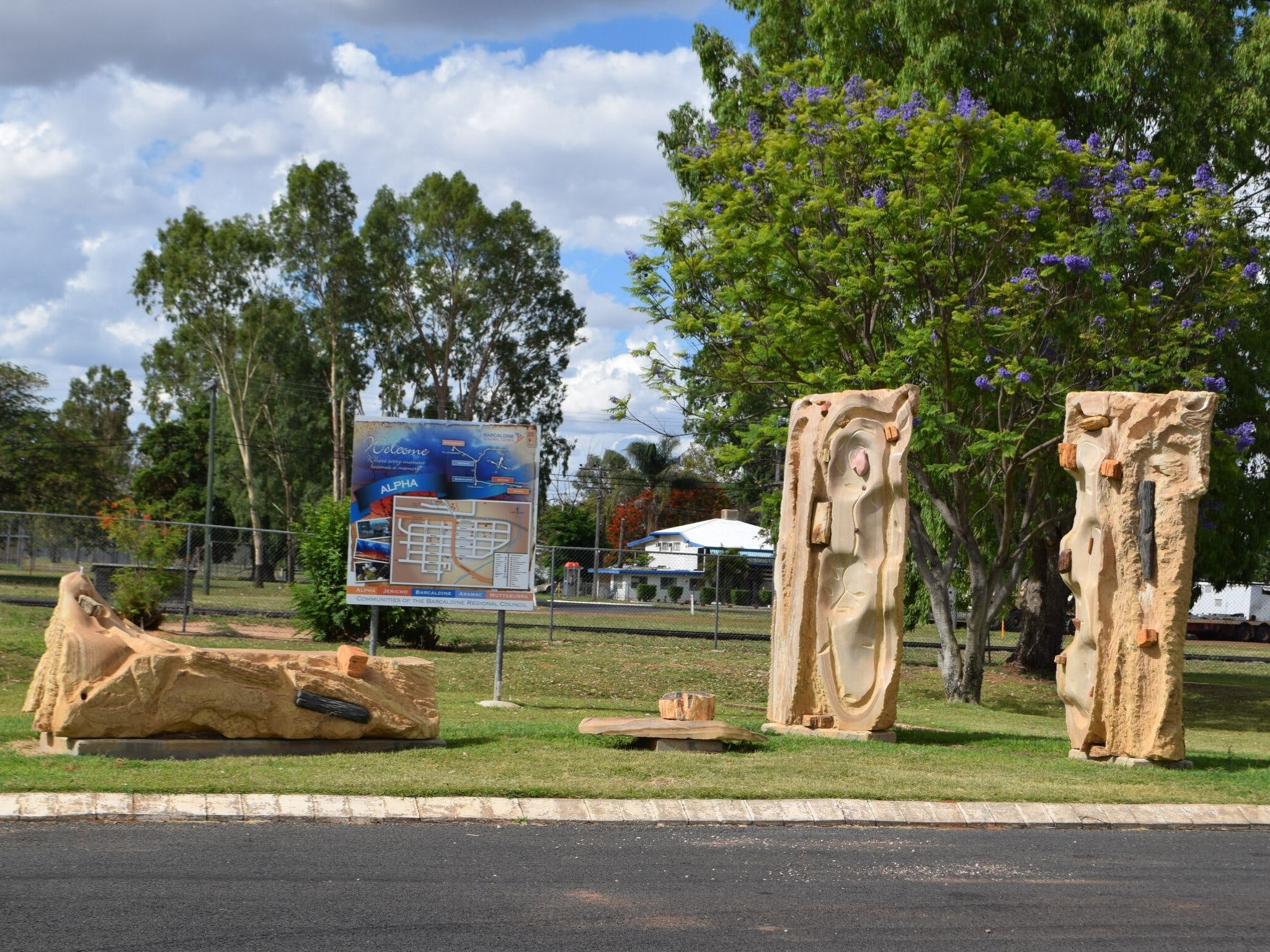 The Fossilised Forest Sculpture - Phillip Island Accommodation