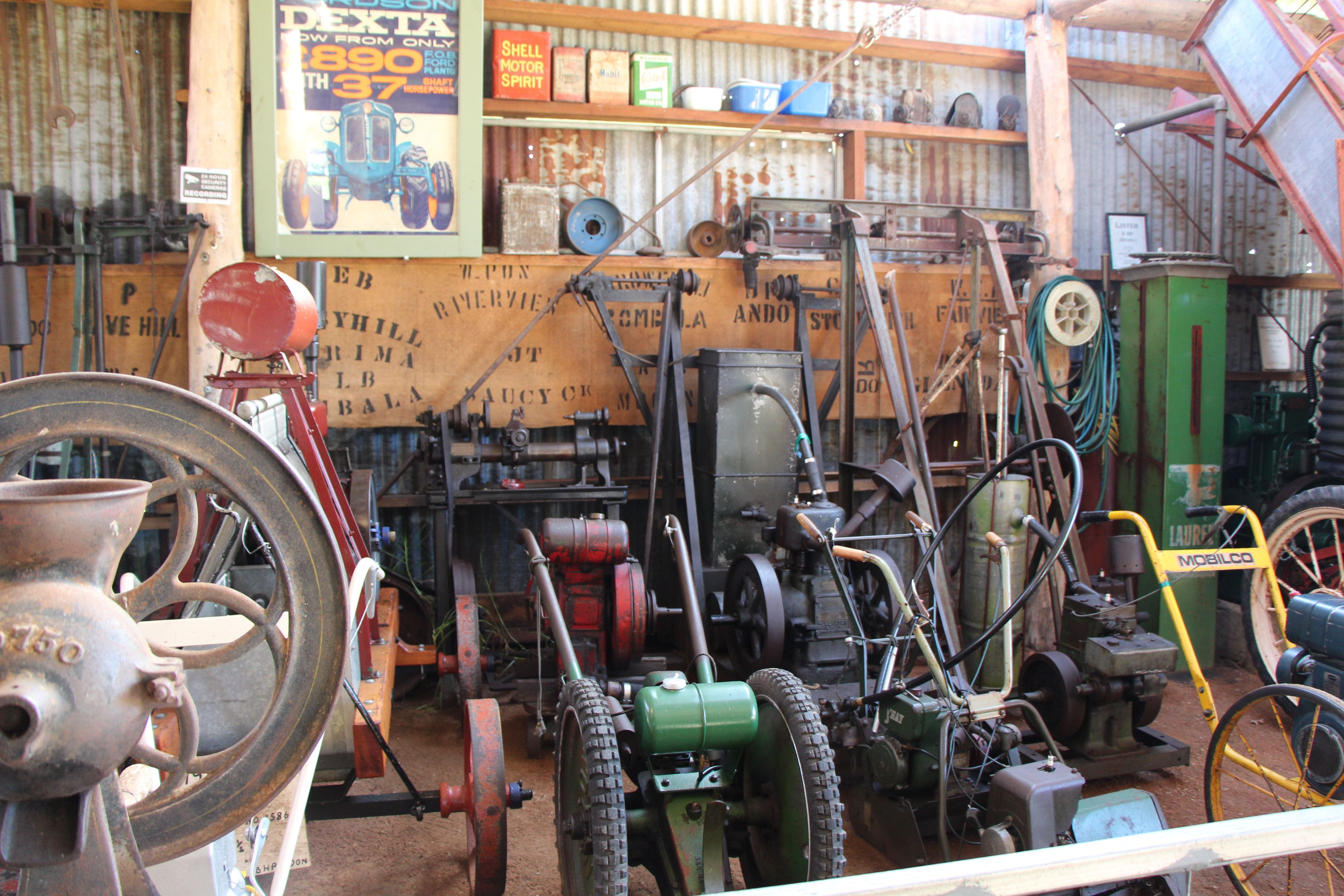 Bombala Historic Engine and Machinery Shed - Phillip Island Accommodation