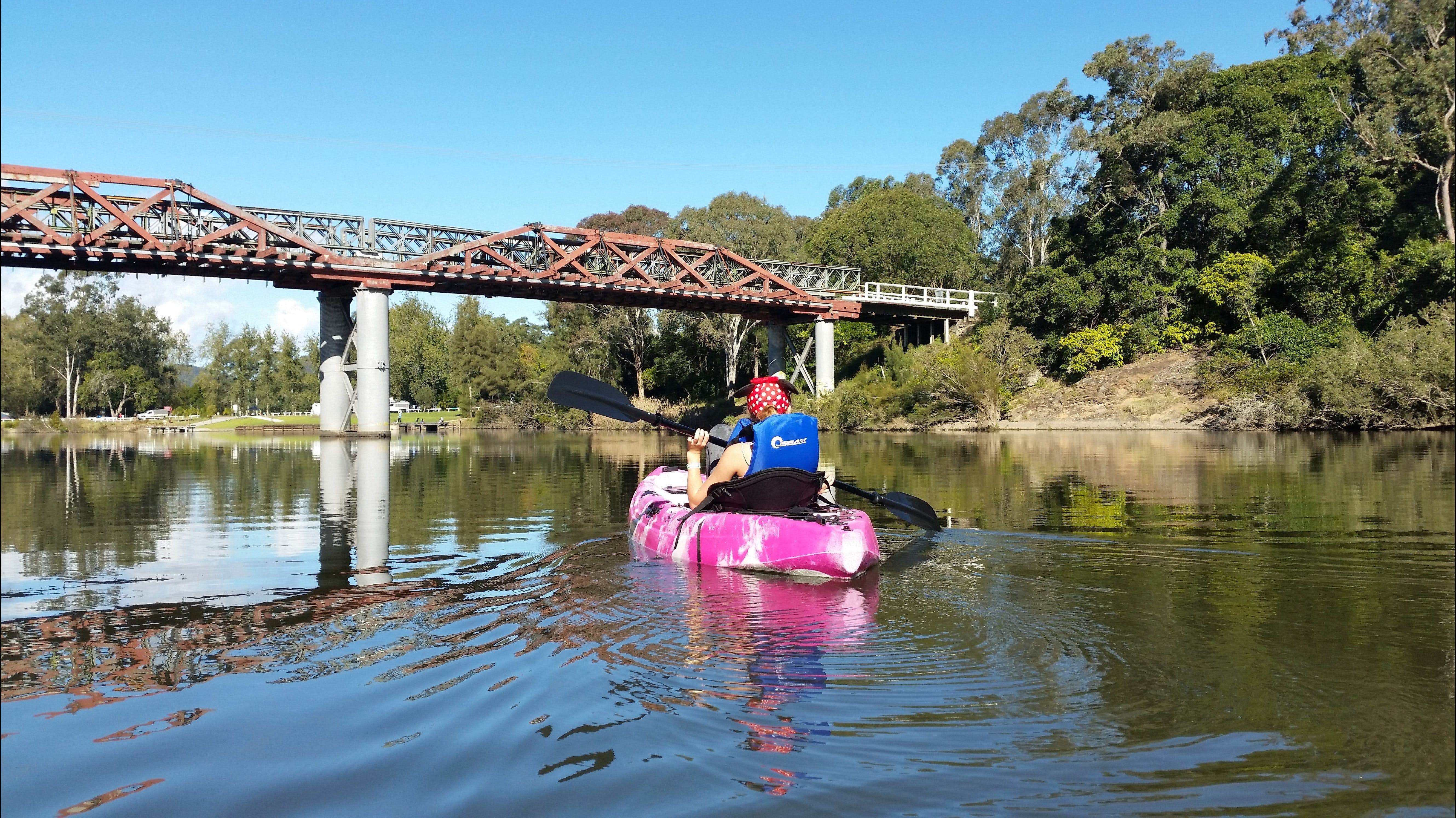 Canoeing at Clarence Town - Phillip Island Accommodation