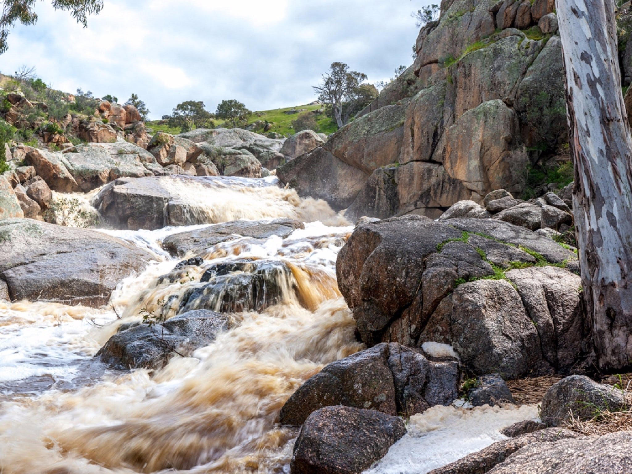 Mannum Waterfalls - Phillip Island Accommodation