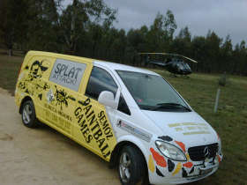 Splat Attack Paintball  Laser Tag Games - Phillip Island Accommodation